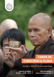 Portugal: Tarde de Consciência Plena segundo a tradição de Thich Nhat Hanh