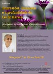 Portugal: Impressões, Intenções e a profundidade da Lei do Karma – Brahma Kumaris