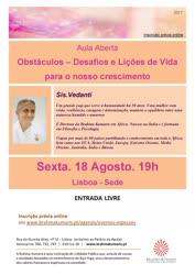 Portugal: Obstáculos – Desafios e Lições de Vida Para o Nosso Crescimento – Brahma Kumaris