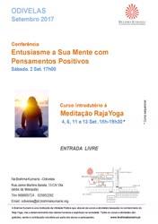 Portugal: Conferência Entusiasme a Sua Mente com Pensamentos Positivos