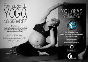 Portugal: Curso de Formação de Yoga na Gravidez – 100h – com Eugénia Palma e Marco Peralta – certificado pela Yoga Alliance Professionals e pela DGERT – Lisboa, Out 2017 a Maio 2018