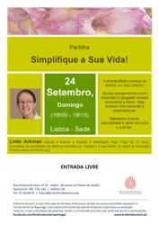 Portugal: Partilha Simplifique a Sua Vida! – com Lotta Arbman – Brahma Kumaris