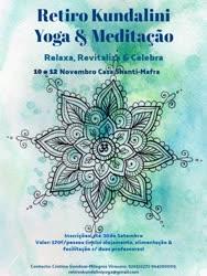 Portugal: Retiro de Kundalini Yoga & Meditação – Mafra – com Cristina Gondar e Sat Preet Kaur
