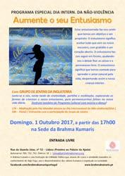 Portugal: Aumente o seu entusiasmo – na Brahma Kumaris