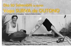 Portugal: Yoga SÚRYA de Outono – com Yogini Eugénia e Tati