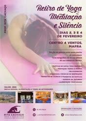 Portugal: Retiro de Yoga, Meditação e Silêncio – em Mafra – com Rita Cachaço