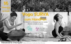 Portugal: Yoga Surya & Handpan #2 – com Yoginí Eugénia e Tati