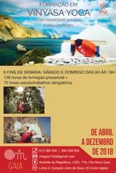 Portugal: FORMAÇÃO EM VINYASA YOGA – com Franciane Santos e Ana Loureiro – Vila Nova de Gaia – Porto