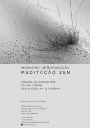 Portugal: Workshop de Introdução à Meditação Zen em Espinho – Saala Yoga, Art & Therapy