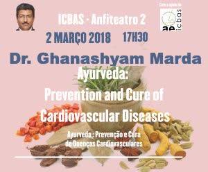 Portugal: Dr. Ghanashyam Marda – Porto – Conferência Ayurveda: Prevenção e Tratamento de Doenças Cardiovasculares – Instituto Abel Salazar (ICBAS)