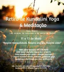 Portugal: Retiro de Kundalini Yoga & Meditação – com Milagros Virasoro e Cristina Gondar