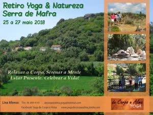 Portugal: RETIRO Yoga & Natureza – Serra de Mafra   Yoga de Corpo e Alma