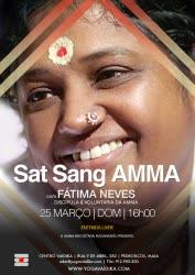 Portugal: Amma Satsang com Fátima Neves – Centro Vaidika – Porto