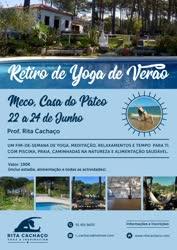 Portugal: Retiro de Yoga de Verão – em Sesimbra – com Rita Cachaço