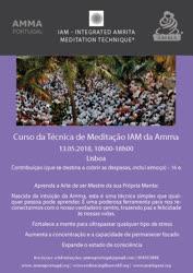Portugal: Curso da Técnica de Meditação Integrada Amrita – Amma Portugal – Lisboa