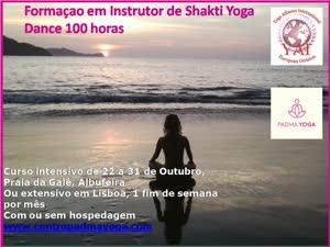 Portugal: Formaçao em Instrutor de Shakti Yoga Dance 100h