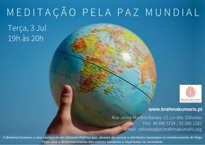 Portugal: MEDITAÇÃO PELA PAZ MUNDIAL na Brahma Kumaris | Odivelas