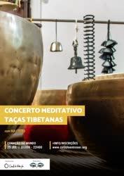 Portugal: Concerto Meditativo de Taças Tibetanas | com Rui Louro