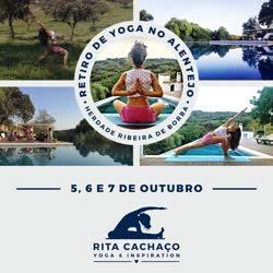 Portugal: Retiro de Yoga – Feriado 5 de Outubro – Alentejo – com Rita Cachaço