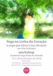 Portugal: WORKSHOP YOGA NA LINHA DO CORAÇÃO – o Yoga que eleva a tua vibração – com Rita Goldrajch