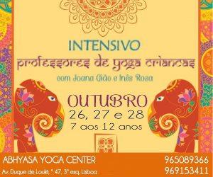 Portugal: Intensivo para Professores de Yoga para Crianças – c/ Inês Rosa e Joana Gião