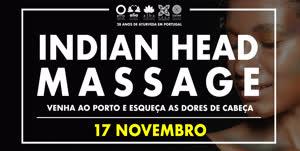 Portugal: Indian Head Massage – na ALBA