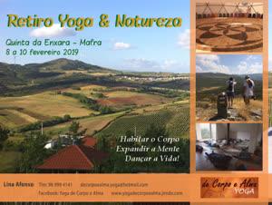Portugal: Retiro Yoga & Natureza – Yoga de Corpo e Alma – c/ Lina Afonso