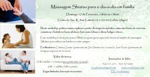 Portugal: Massagem Shiatsu para o dia-a-dia em família – c/ Cristina Gondar & Juan Yusta