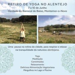 Portugal: Retiro de Yoga e Natureza | Feriados de Junho | Alentejo – c/ Rita Cachaço