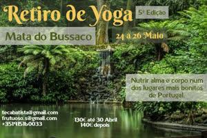 Portugal: Retiro de Yoga no Bussaco – 5ª Edição – c/ Teca Batista e Sofia Frutuoso