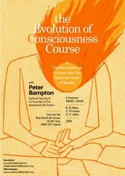 Portugal: Curso Evolução da Consciência – c/ Peter Bampton – Lisboa e Porto
