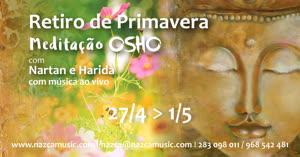 Portugal: Retiro de Meditação Osho c/ Nartan e Harida – Retiro de Primavera – Alentejo