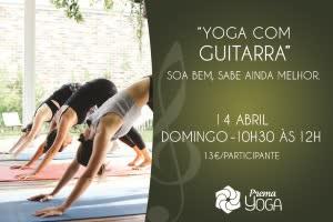 Portugal: Yoga ao Som de Guitarra Clássica – c/ Leopoldo Gouveia – no Prema Yoga – Oeiras