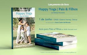 Portugal: Lançamento do Livro 'HAPPY YOGA – PAIS & FILHOS'