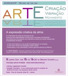 Portugal: Retiro de Um Dia – Arte, Criação, Vibração, Movimento – na Brahma Kumaris