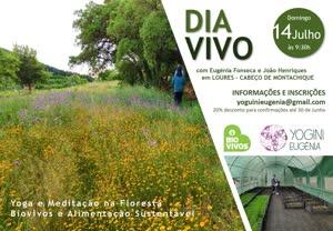 Portugal: Dia Vivo – Yoga e Alimentação Sustentável – c/ Eugénia Fonseca e João Henriques