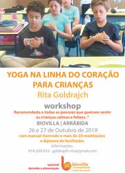 Portugal: WORKSHOP DE YOGA NA LINHA DO CORAÇÃO PARA CRIANÇAS – c/ Rita Goldrajch