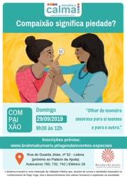 Portugal: Conferência e Workshop: Escolha a Calma – Compaixão significa piedade? – c/ Anna Ziegler – Brahma Kumaris