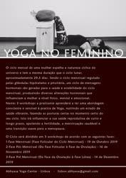 Portugal: Ciclo de Workshops de Yoga no Feminino – c/ Sofia Nunes