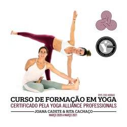 Portugal: Curso de Formação em Yoga c/ Rita Cachaço e Joana Cadete