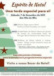 Portugal: Espírito de Natal – Uma tarde especial para si – na Brahma Kumaris