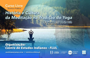 Portugal: Curso Livre História e Cultura da Meditação na Tradição do Yoga – Faculdade de Letras de Lisboa – c/ Paulo Hayes