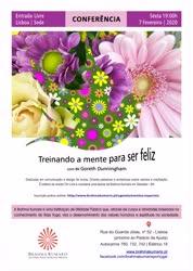Portugal: Conferência: Treinando a Mente para Ser Feliz – com BK Goreth Dunningham – na Brahma Kumaris