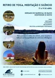 Portugal: Retiro de Yoga, Meditação e Silêncio – c/ Rita Cachaço – Montemor-o-Novo