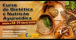Portugal: Curso de Dietética e Nutrição Ayurvédica – 3ª ed. c/ Profs. Paulo Meira e Dr. Marda