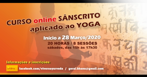 Portugal: Curso Online – Sânscrito Aplicado ao Yoga – c/ Paulo Meira