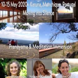Portugal: Retiro Moving into Silence no Algarve – com Swami Karunananda, Nalanie Harilela Chellaram e Luckshmi Lucy Cannon