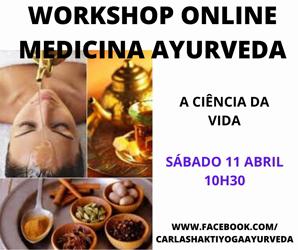 Portugal: Workshop ONLINE Medicina Indiana Ayurveda – c/ Carla Shakti