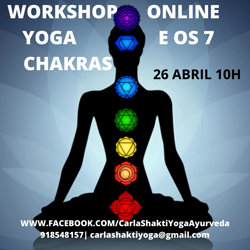 Portugal: Workshop Yoga e os 7 Chakras – c/ Carla Shakti
