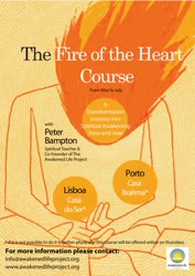 Portugal: Curso Online 'The Fire of the Heart' – c/ Peter Bampton